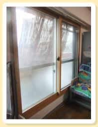 2重窓の施工例